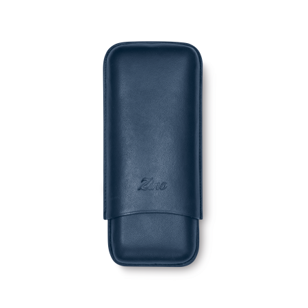 Zino Cigar Case Dark Blue, 2  Cigars / R