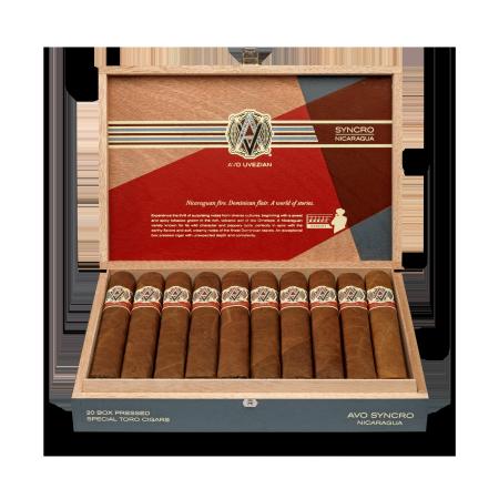 Avo Syncro Nicaragua Special Toro, Box of 20