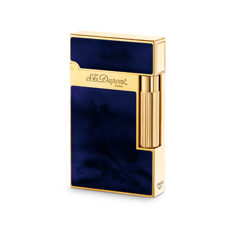 S.T. Dupont Ligne 2 'Atelier Collection' Lighter, Dark Blue