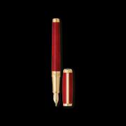 S.T. Dupont Line D Pen Atelier Red, Fountain / Fine