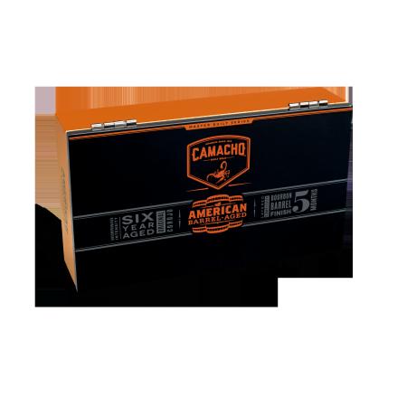 Camacho American Barrel Robusto, Box of 20 Tubos