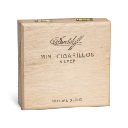 Davidoff Mini Cigarillos Silver, Box of 50