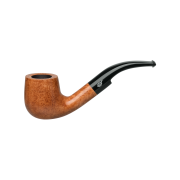 Davidoff Pot Bent Pipe, Natural Light Brown