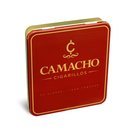 Camacho Cigarillos, Tin of 20