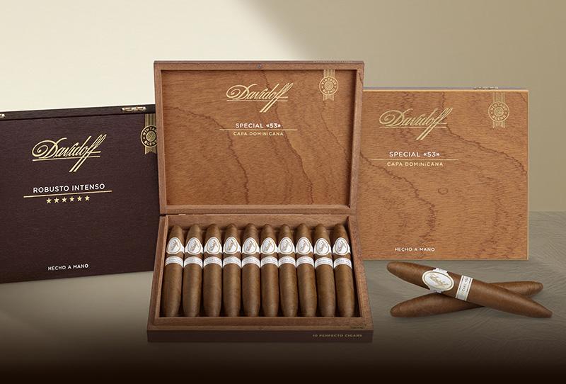 Davidoff Limited Edition Cigar Collection: Davidoff Special «53» and Davidoff Robusto Intenso