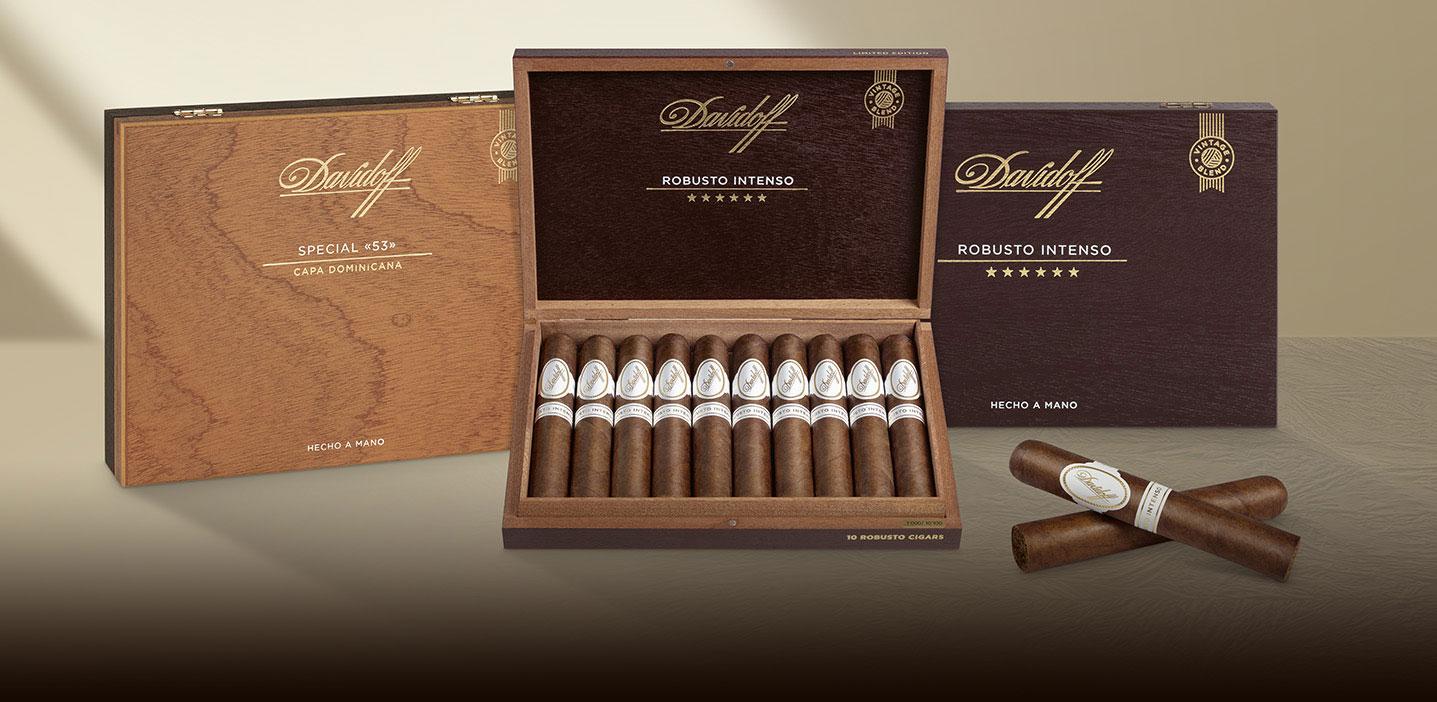 Davidoff Limited Edition Cigar Collection: Davidoff Robusto Intenso and Davidoff Special «53»