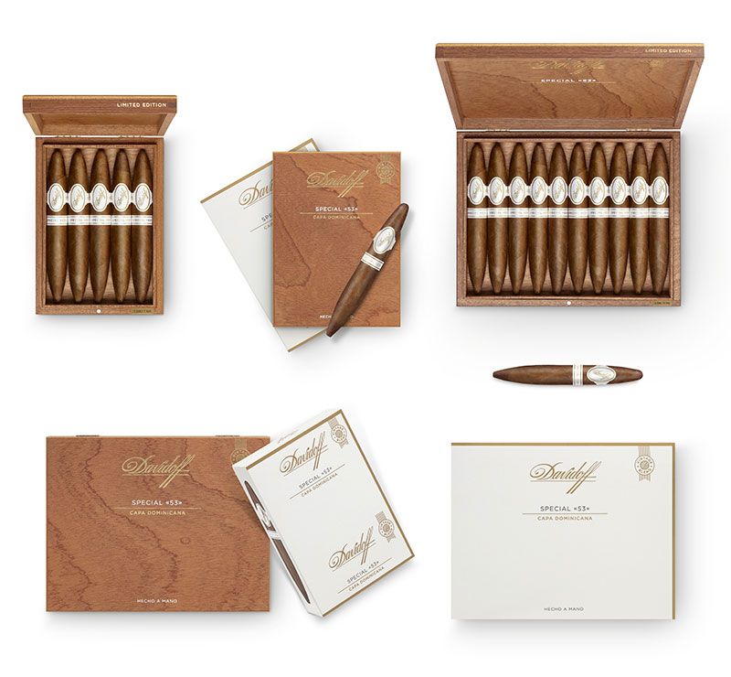 Davidoff Special 53 Cigars Limited Edition 2020 Boxes