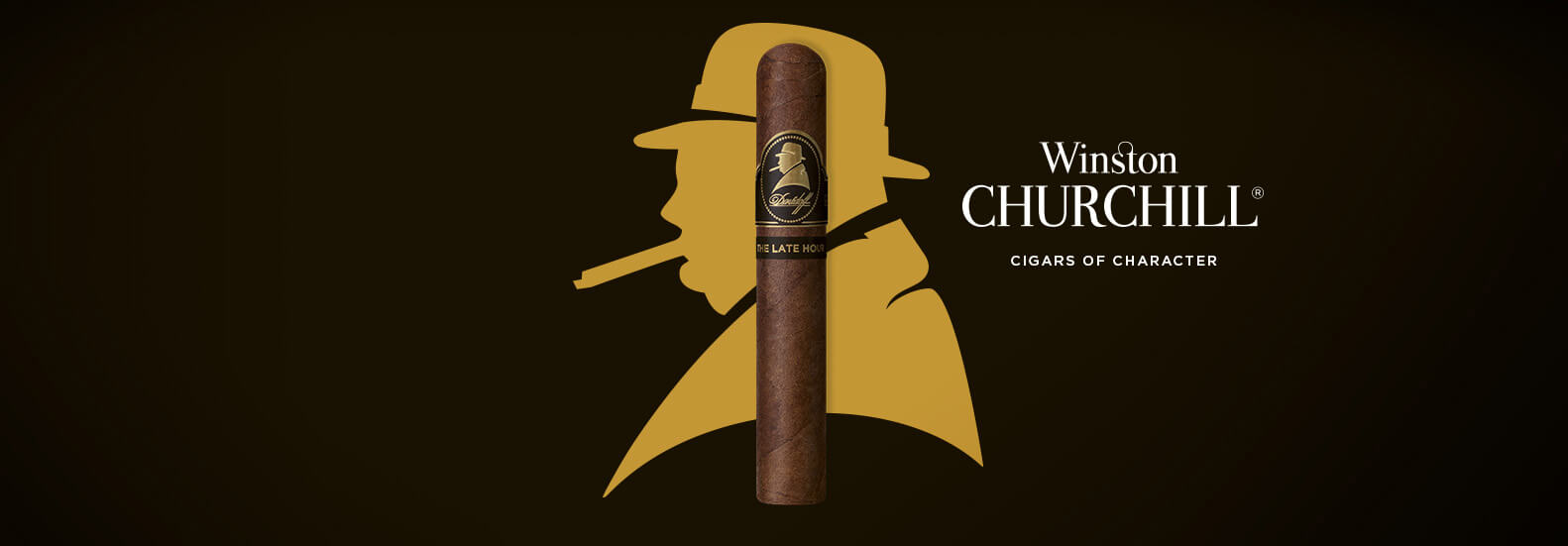Davidoff Winston Churchill the Late Hour