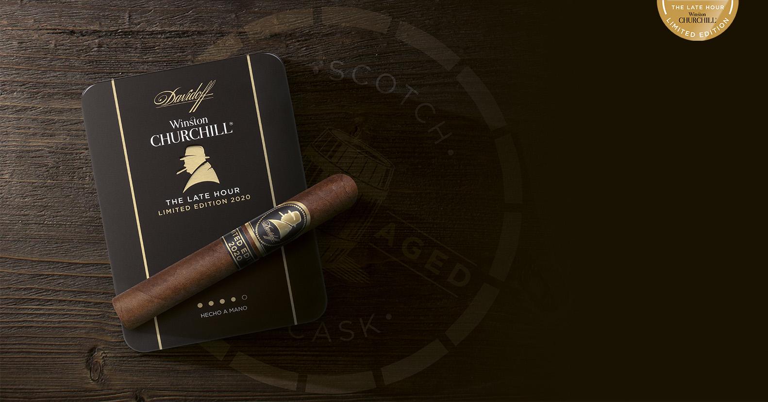 Davidoff Winston Churchill Petit Panatela Limited Edition 2019 Zigarre