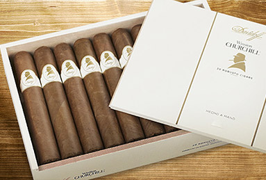 davidoff cigars winston churchill original collection