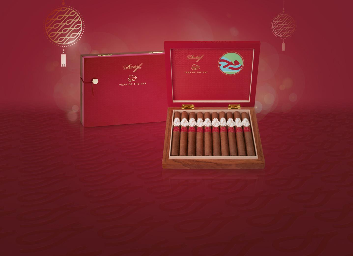 Year of the Rat 2020 Davidoff cigars