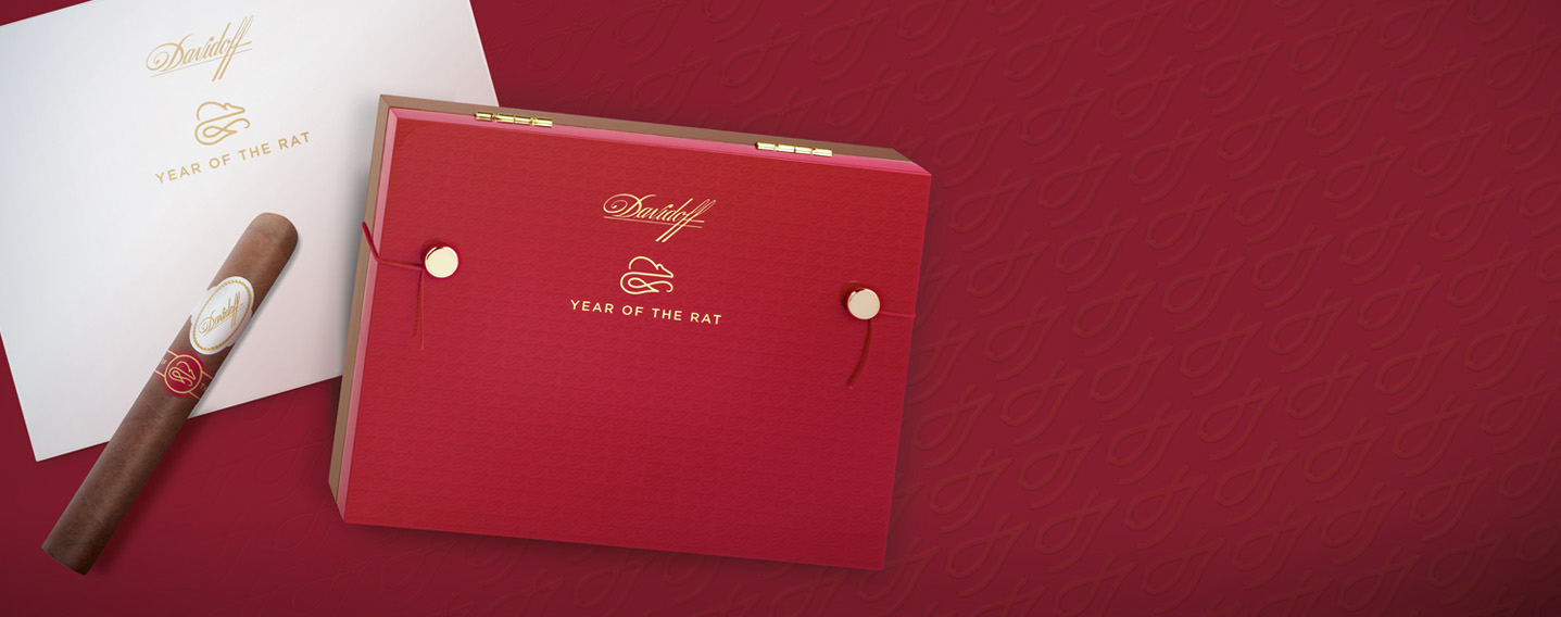 Year of the Rat 2020 Davidoff cigars Limited to 10'000 boxes
